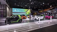 smart at the North American International Auto Show