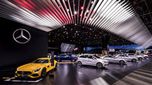 Mercedes-Benz and AMG at the North American International Auto Show