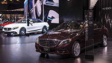 The 2017 Mercedes-Maybach S550 4MATIC Sedan