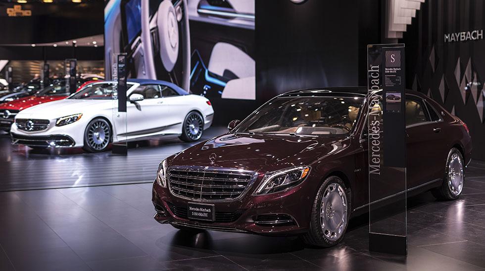 Mercedes-Benz 2017 DETROIT AUTO SHOW 18