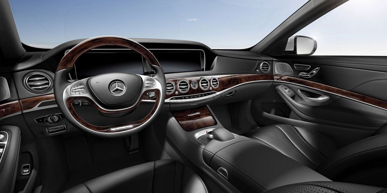 Mercedes-Benz 2014 S CLASS SEDAN UPHOLSTERY 201 BYO T 01