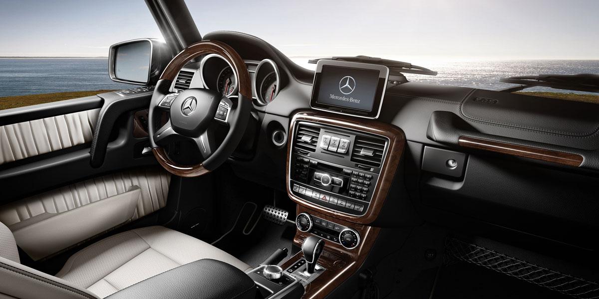 Mercedes-Benz 2015 G CLASS G550 SUV DESIGNO ZF3 BYO D 01