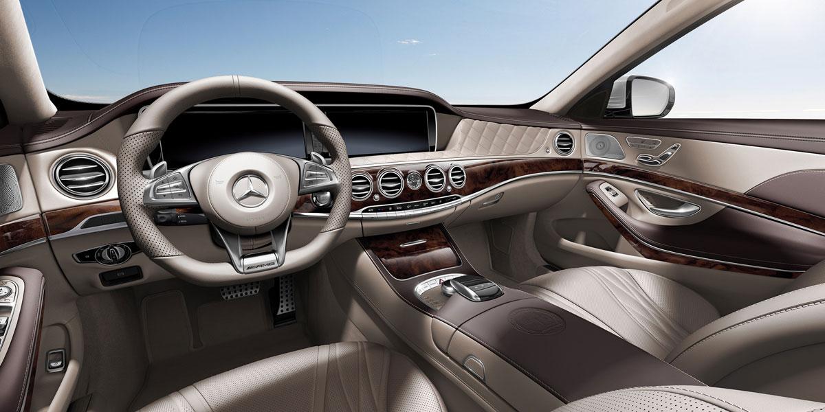 Mercedes-Benz 2015 S CLASS S63 AMG SEDAN UPHOLSTERY 399 995 BYO D 01