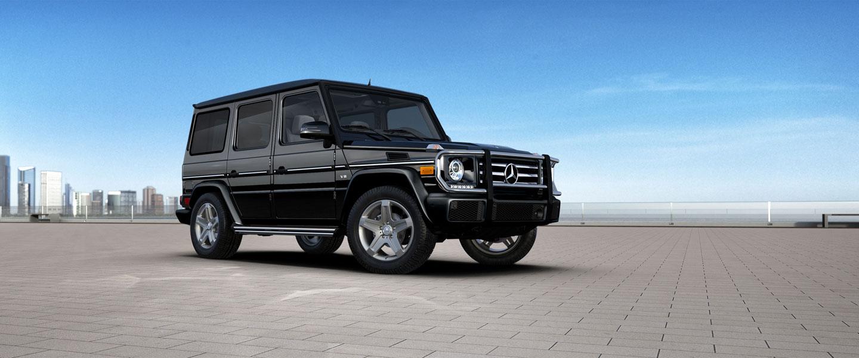 Mercedes-Benz 2016 G CLASS G550 SUV BACKGROUND BYO D 01