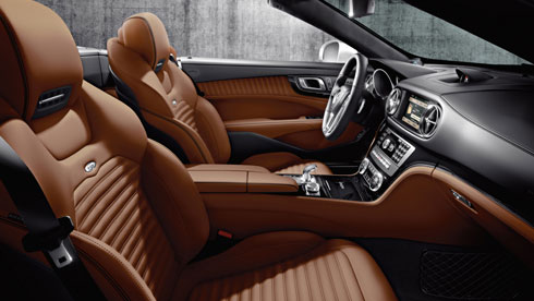 sl class interior leather - Mercedes Suv Interior 2014