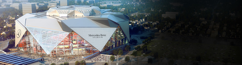 Events and partnerships auto shows fashion tennis for Mercedes benz stadium events