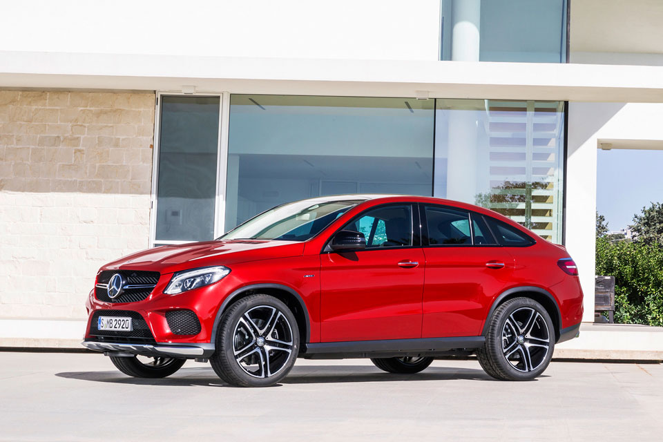 2016 GLE-Class Coupe - Future Vehicle | Mercedes-Benz