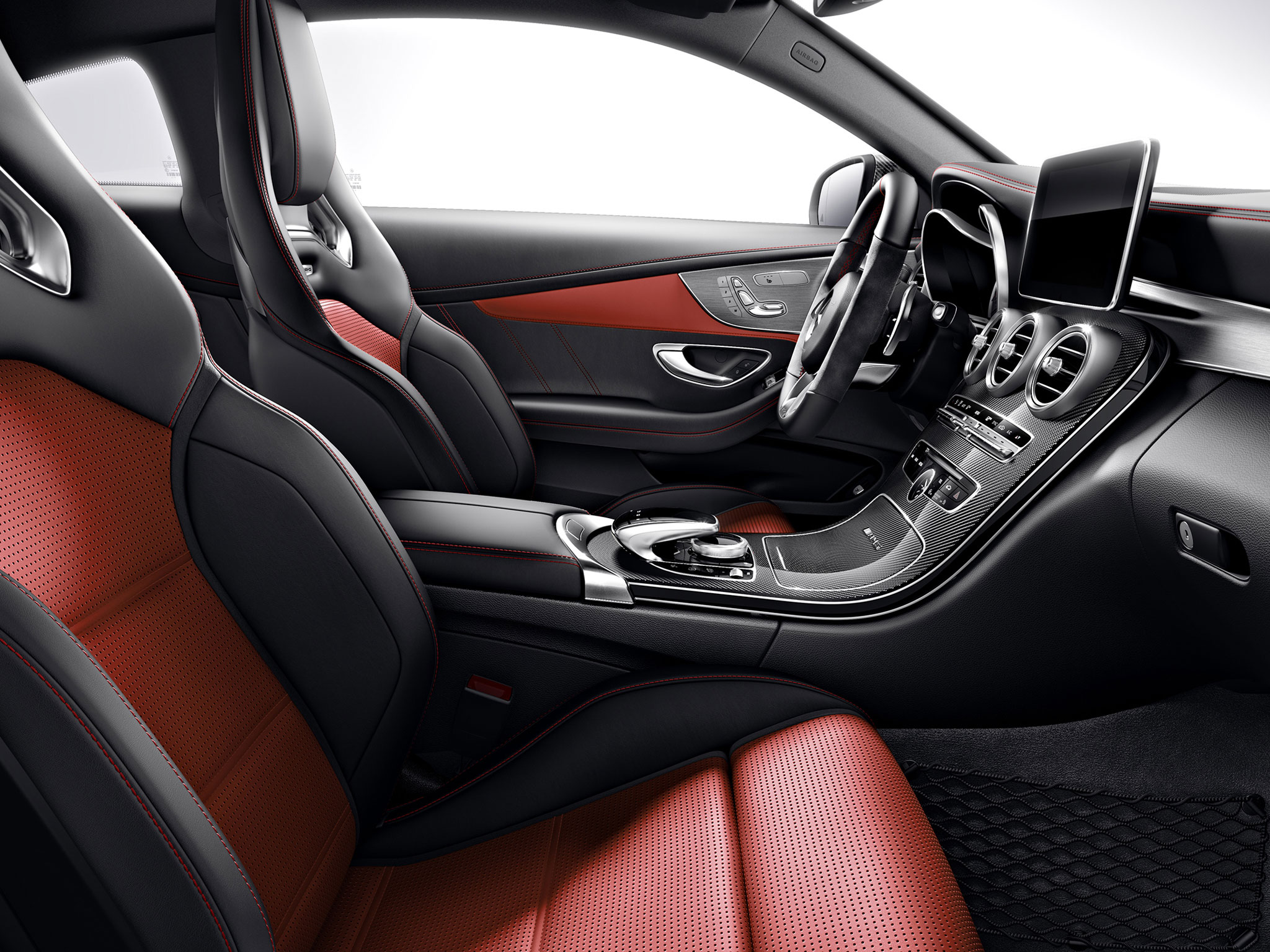 C63 Amg Coupe Interior 2017