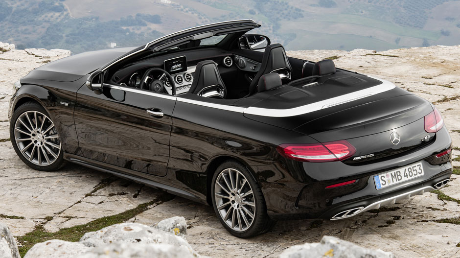 The All New Mercedes Amg C43 Cabriolet