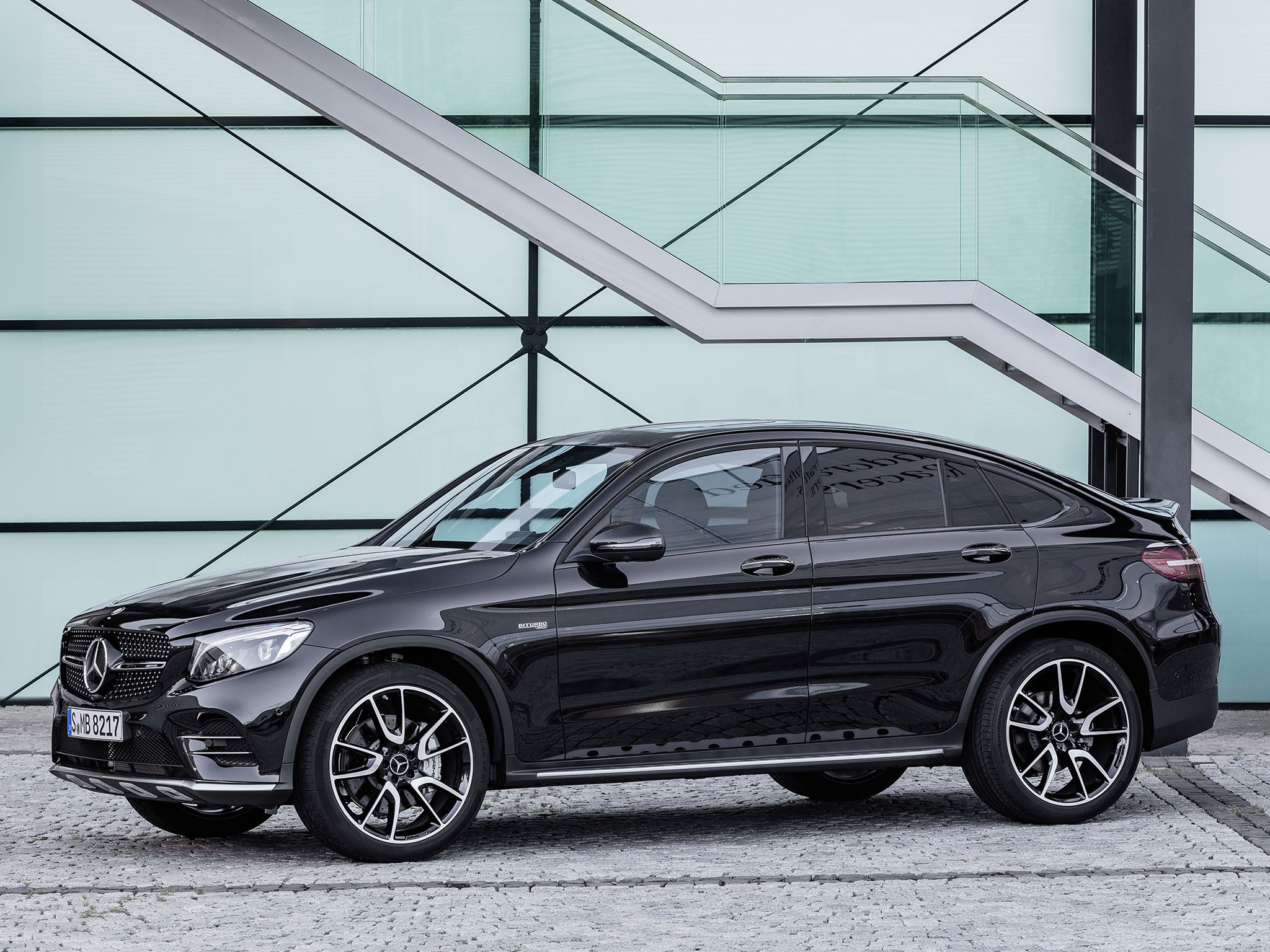 The All New Mercedes Amg Glc43 Coupe