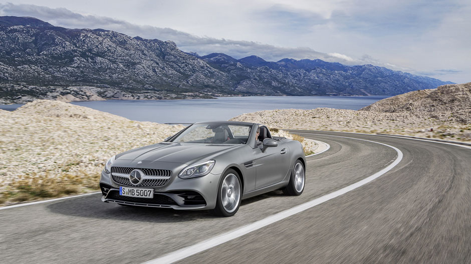 The new 2017 SLC  MercedesBenz