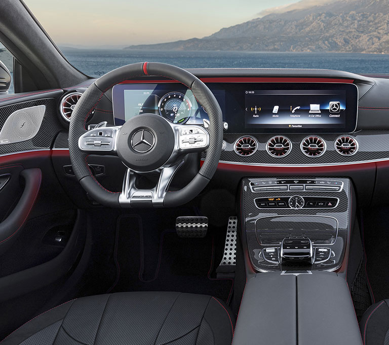 2019 A Class on mercedes e350 convertible interior