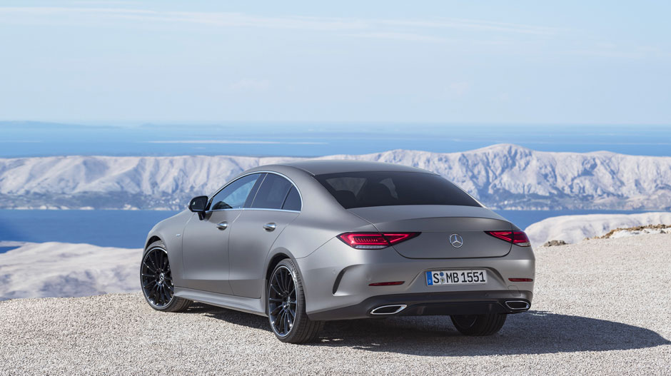 The All New Mercedes Benz Cls Coupe