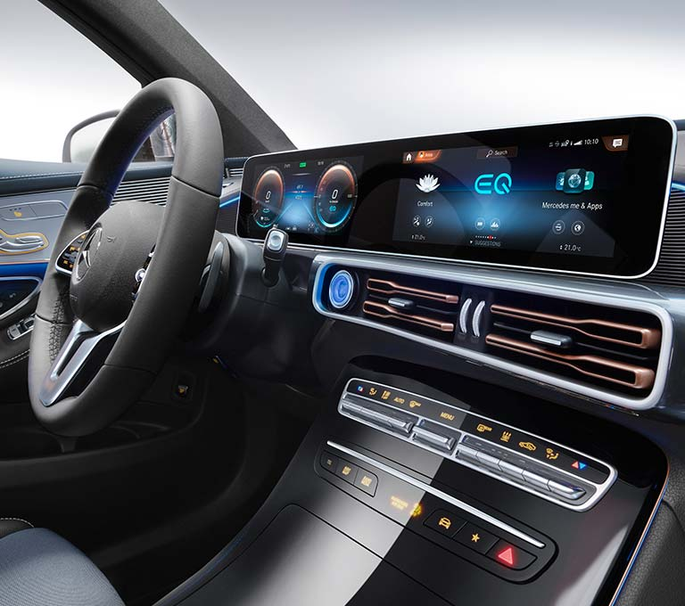 2020 mercedes s class gets huge touchscreen looks bigger. Black Bedroom Furniture Sets. Home Design Ideas