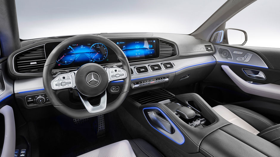 The all-new Mercedes-Benz GLE SUV