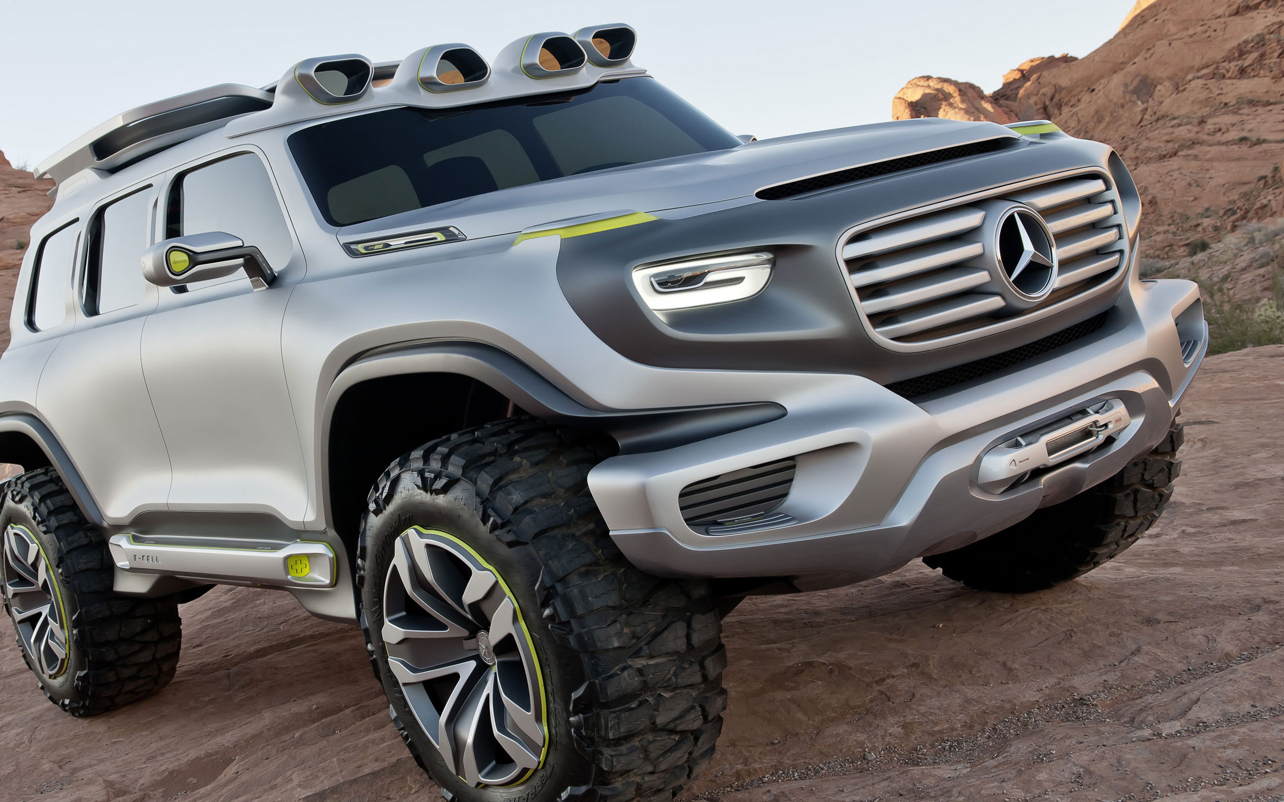g-class environmentally friendly suv - future vehicle | mercedes-benz