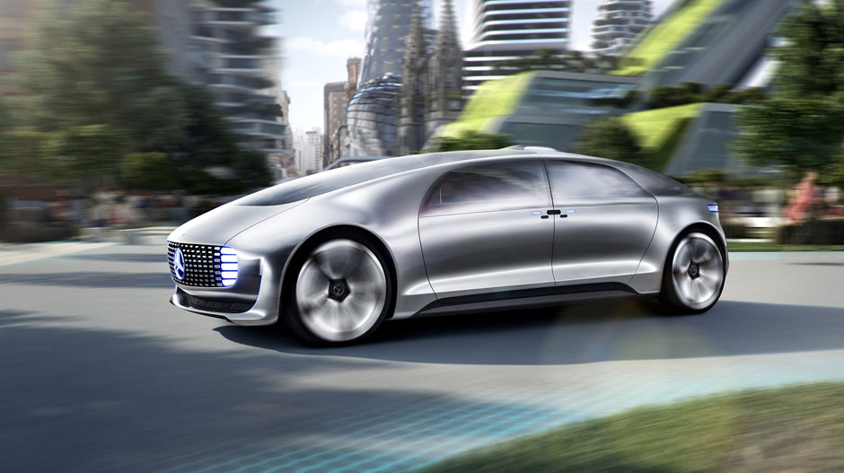 F 015 Luxury In Motion Concept Car Mercedes Benz