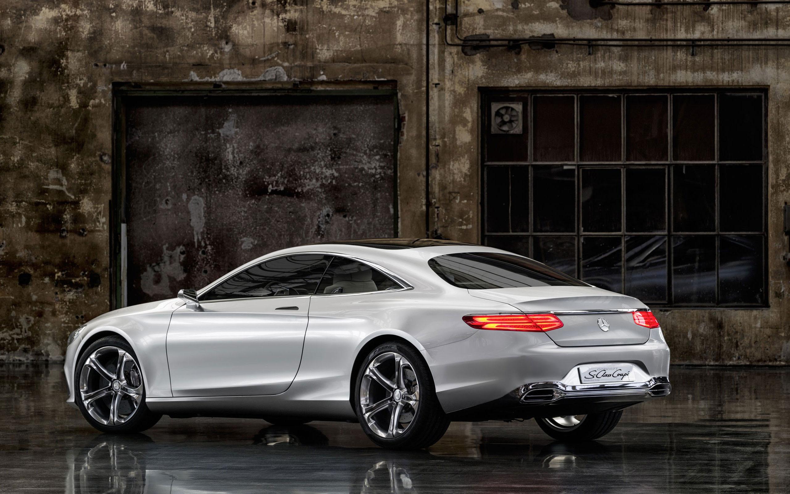 S Class Coupe >> Concept S Class Coupe Future Vehicle Mercedes Benz