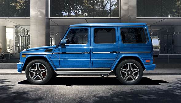 Mercedes-Benz 2016 G CLASS SUV FEATURED GALLERY THUMB