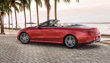 Mercedes-Benz 2018 E CABRIOLET FEATURED GALLERY 385x219