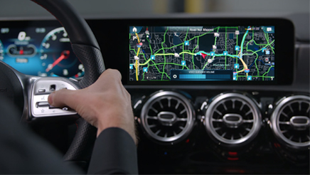 COMAND® Navigation Map Features - How-To Videos - Mercedes