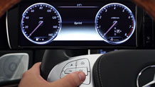 Mercedes-Benz Thumb S Class MY14 Instrument Cluster@1x
