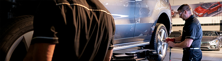 Mercedes benz service parts vehicle maintenance for Authorized mercedes benz service centers near me