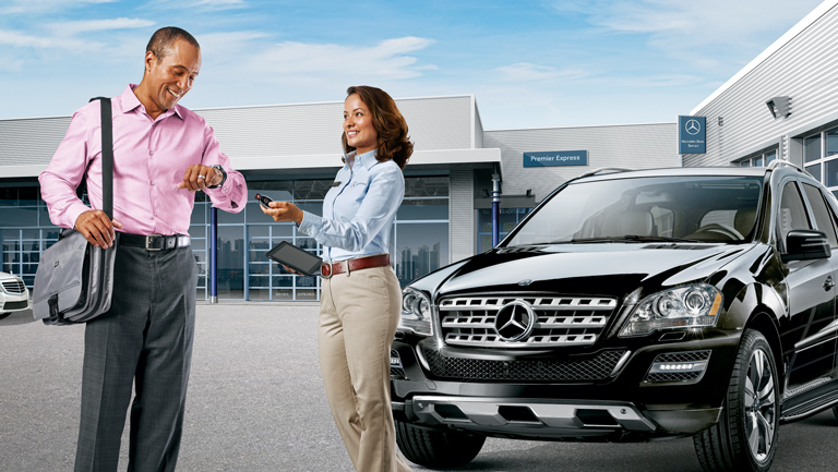 Mercedes benz service parts vehicle maintenance for Mercedes benz dealers in michigan