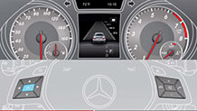 Mercedes-Benz 15 TV CLA Class ATTENTION ASSIST