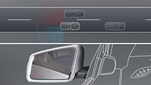 Mercedes-Benz 17 TV Blind Spot Monitoring