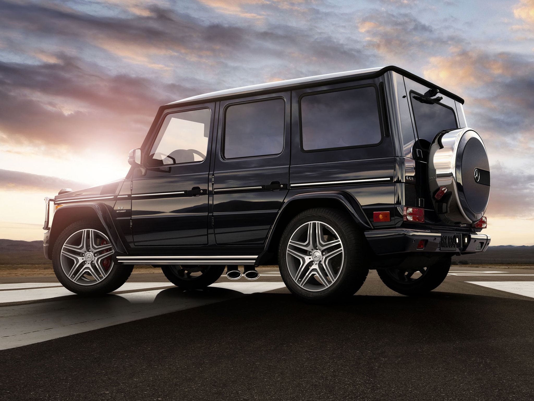 Amg G63 In Black With 20 Inch Wheels