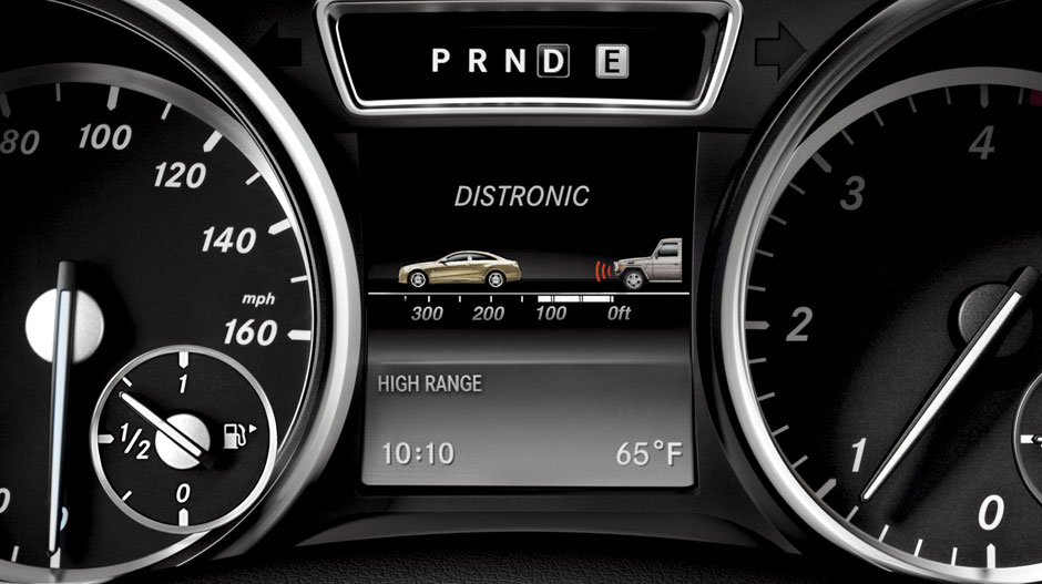 with standard distronic adaptive cruise control