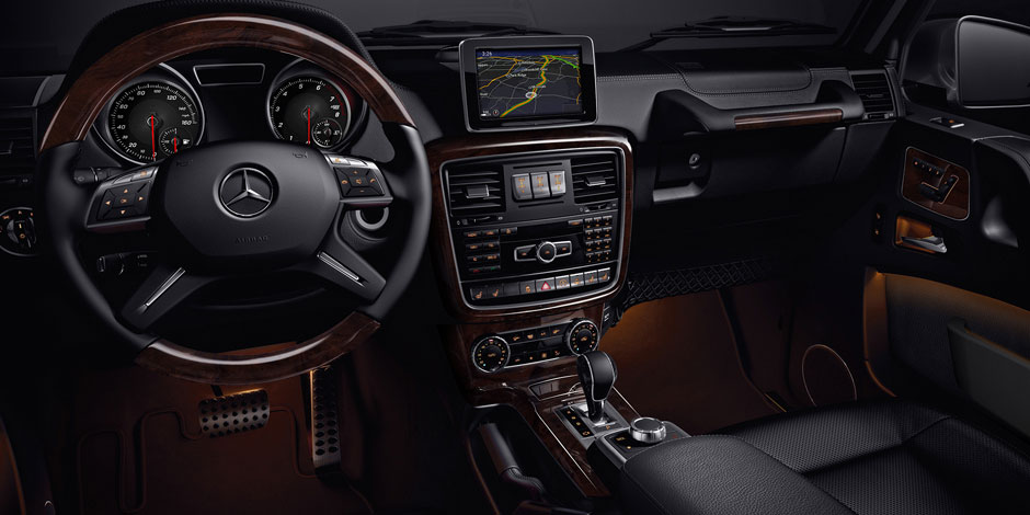 Mercedes g wagon interior 2015