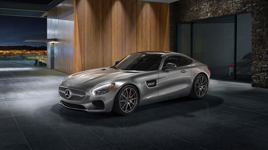 Mercedes-AMG GT High-performance Sports Car   Mercedes-Benz