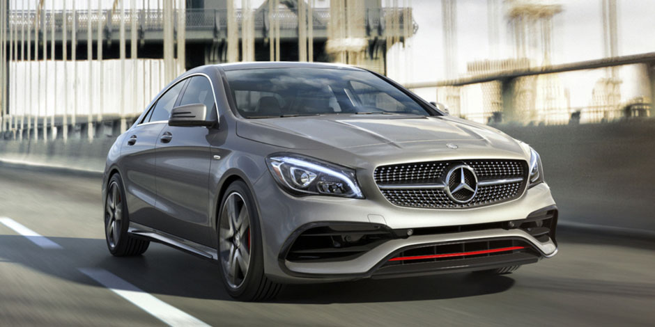Mercedes Benz Cla >> Cla 4 Door Coupe Mercedes Benz