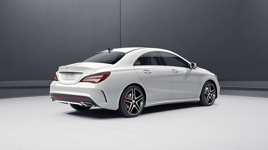CLA 4Door Coupe  MercedesBenz