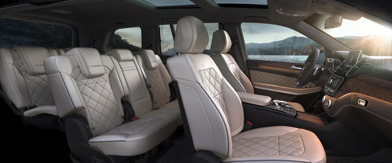 GLS SUV  MercedesBenz
