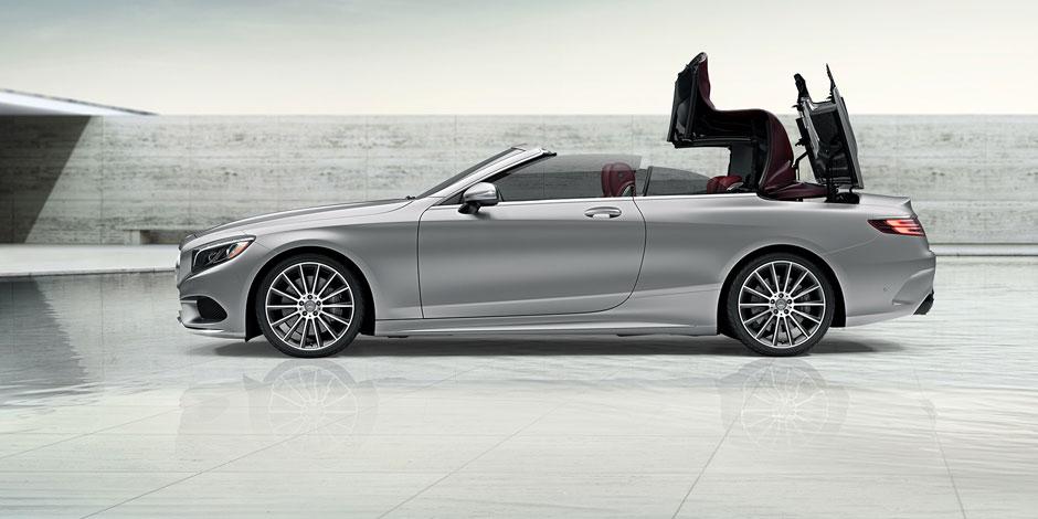 2017 Mercedes-Benz S-Class Cabriolet Delivers Unrivaled Droptop ...