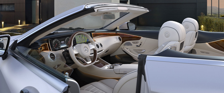2017 mercedes benz s550 cabriolet interior 02 - 2017 S Class Cabriolet Ch02 D Jpg