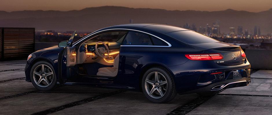 Mercedes-Benz 2018 E COUPE GALLERY 009 SET G FE D