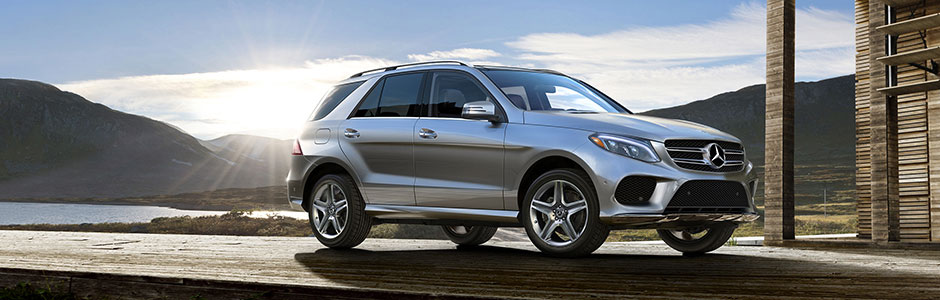 GLE 350 in Iridium Silver with AMG Line Exterior and Premium 2 Package