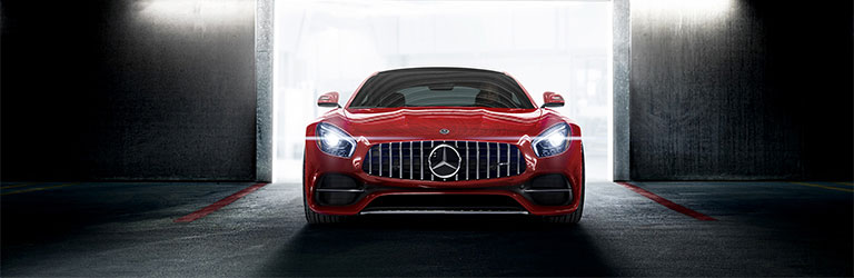 Mercedes Amggt Coupe