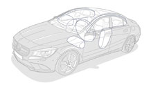 Mercedes-Benz 2014 CLA CLASS CLA250 027 MCF