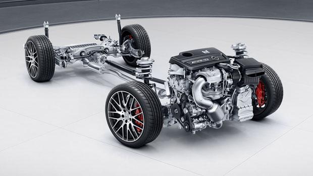 2018 AMG CLA45 4Door Coupe  MercedesBenz