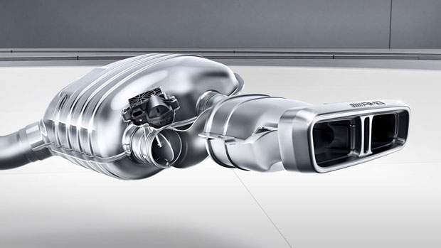 Amg Sport Exhaust System 2018ee63samgwagon017mcf: Amg Performance Exhaust System Selectable At Woreks.co