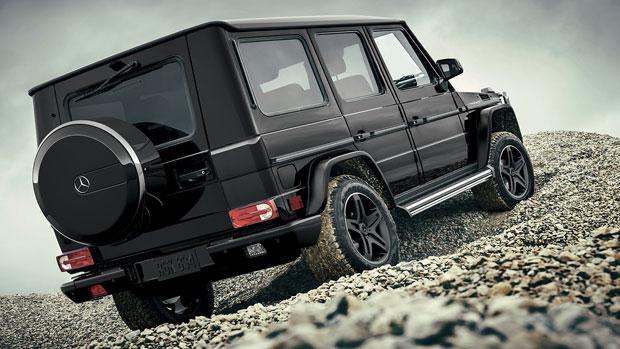 Mercedes g class matte black