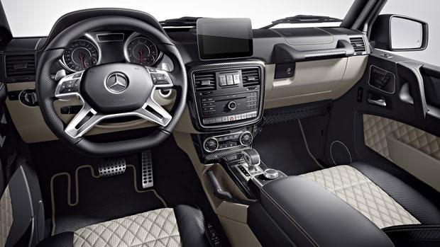 Mercedes Benz G65 Amg 2017 Interior