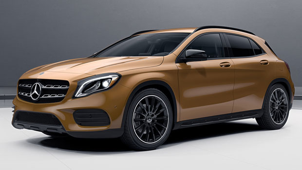 Gla suv 2015 new used car reviews 2018 for Mercedes benz 2018 models
