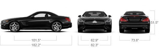 Mercedes-Benz 2018 SL550 ROADSTER SPECS